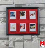 China direct manfacturer beautiful printing paper wooden picture small plastic craft frame
