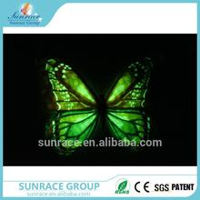 Multifunctional reflective sticker 3d window sticker art decor removable wall sticker butterfly for wholesales