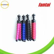wholesale popular mini flexible sponge tripod ,hot sale high quality price for digital camera