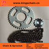 Cheap price natural color reinforced 428 motorycle chain in colombia