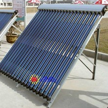Vacuum tube solar panel collector, heat pipe solar collector