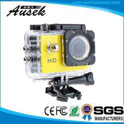 best night vision 1080p advanced portable car camcorder waterproof 30M Bike Helmet Cam Sports DV