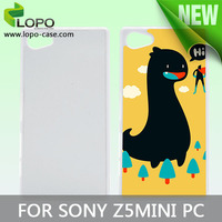 Best price sublimation PC mobile case for Sony Z5 MINI