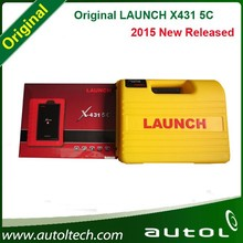 2015 Newest 100% Original Global Version Launch X431 5C = X431 PRO Update via Internet X-431 5C WIFI/Bluetooth Free Shipping