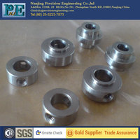 Customized high precision cnc ss316 tube with thread from nanjing