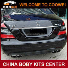 High quality PP material S65 AMG style rear bumper for W221 2012 up