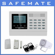 New Product GSM Wireless Home Security System Alarm with 8 Road Wired Zone