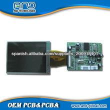 Montaje de la exhibición PCB PCBA LCD