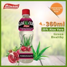 360ML Houssy [aloe vera drink] Pomegranate Flavored Aloe Cube