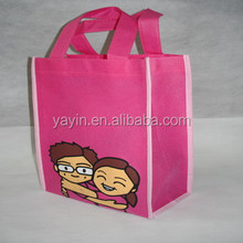 Beautiful non woven tote bags for high school girls