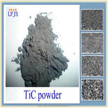 Titan cacbua bột tinh khiết 99% với khối hệ thống stracture của Naci điểm nóng chảy cao