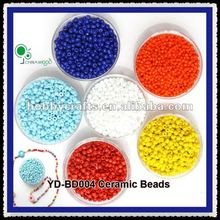 4mm Age 3+ Colored Ceramic Beads to Make Jewellery