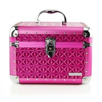 Purple rice character design lady use cosmetic case jewellery case with mirror RZ-SC-013