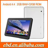 10.1 inch tablet Android 4.4 KITKAT A31S Quad Core Tablet PC 2G RAM 32G ROM android tablet bulk sell on alibaba