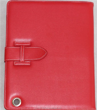 Foldable leather cover leather cover for iPad air cover