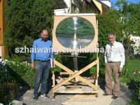 Best price HW-F1000-5 1000*1000mm big size PMMA optical lens fresnel lens magnifier
