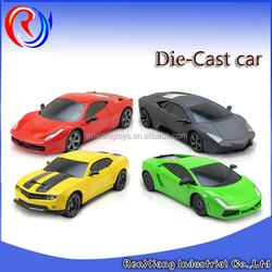 1:24 Pull back scale model car toys