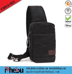 Men Travel Canvas shoulder bag for ipad