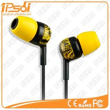 Hot Selling colorful In Ear Phones for MP3 MP4 Mobile phone