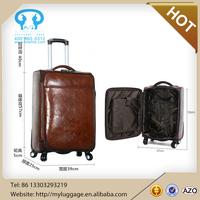 Wholesale new design leisure vintage luggage 2015 luggage factory