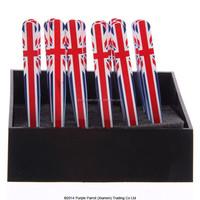 Union Jack Flag Stainless Steel Eyebrow Tweezers