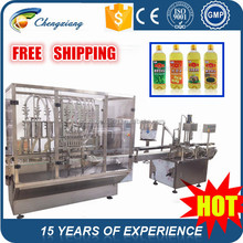 High speed automatic filling capping machine,250 ml oil bottling machine,cooking oil filling plant