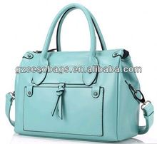 Pretty tote house shaped handbag with removeable long strape
