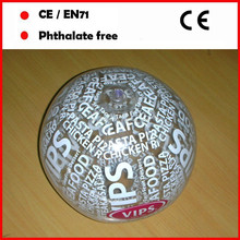 High quality 4C full printing by machine giant beach ball for advertising