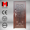 YIJIA Fashionable Eco-friendly Steel Doors for Sale Wrought Iron Entry Door YJRH07