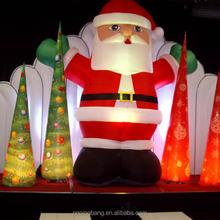 NB-CM-3013 Hot sale Popular inflatable santa claus for Christmas decoration