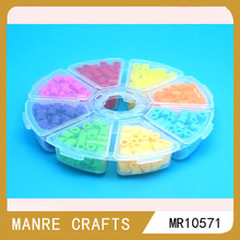 wholesale stock toy fuse beads mini hama beads perler peg board
