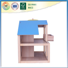 Russian prefabricated house wooden with Safe and non-toxic paint