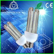 Led lamp 360 degree 3U led corn light 25w and led glass 3U E40 E27 B22