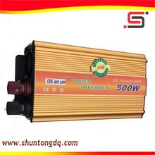 DC12V 500 watt kbm power pure sine wave inverter with charger