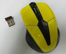 2.4g many colors cool desgin wireless mouse