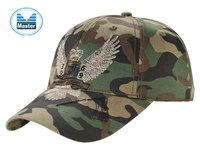 Camo Tactical Hats with Flat Embroidery
