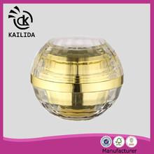 New luxury attractive looking shining 50ml clear plastic jar