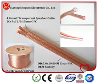 High quality Clear PVC Audio Speaker cable /Speaker Wire