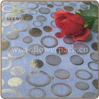 cheap non-woven disposable table cloth for party