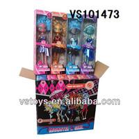 New hot sale 9'' cheap original monster high dolls wholesale for kids