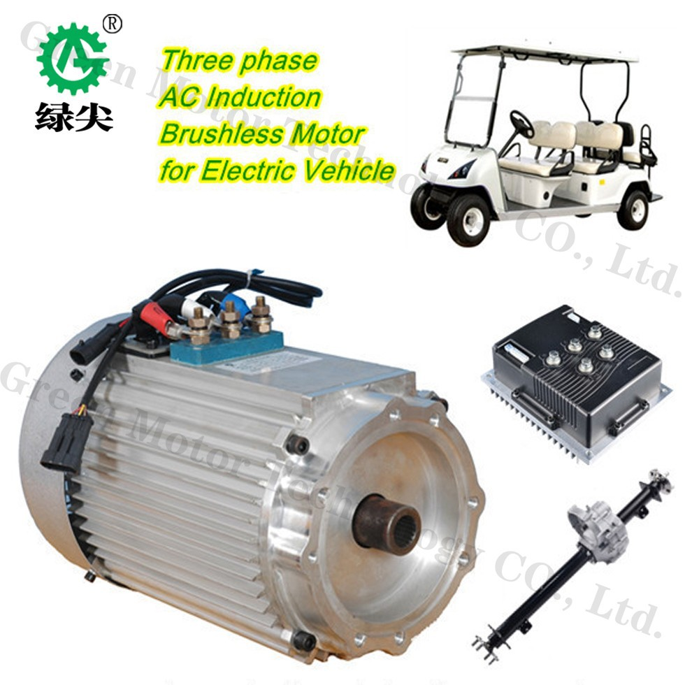 Ev Electric Vehicle Motor 3kw 48v View New Energy