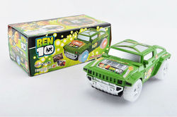 B/O BEN 10 UNIVERSAL HUMMER W/GOING UP, GOING DOWN & ROTATING FUNCTIONS, ENGLISH SONGS & LIGHT
