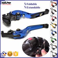 BJ-LS-001 Wholesale adjustable foldable motorcycle cnc brake levers