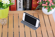 OEM 3D blank Sublimation case for iphone 5 5S High quality Leather mobile phone case