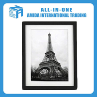 2015 New decorative Solid Flora wood photo frame
