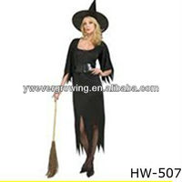 Fashion sex witch cosplay halloween party costumes