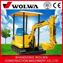 hot sale 180 degree children's play mini excavator with CE for sale