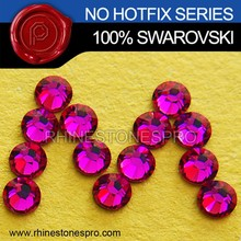 Original Swarovski Elements Ruby (501) 20ss Flat Back Crystal No Hotfix Rhinestone