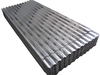 Galvanized corrugated lowes sheet metal roofing sheet price