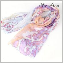 Latest Arrival Custom Design leopard printed pashmina from China manufacturer